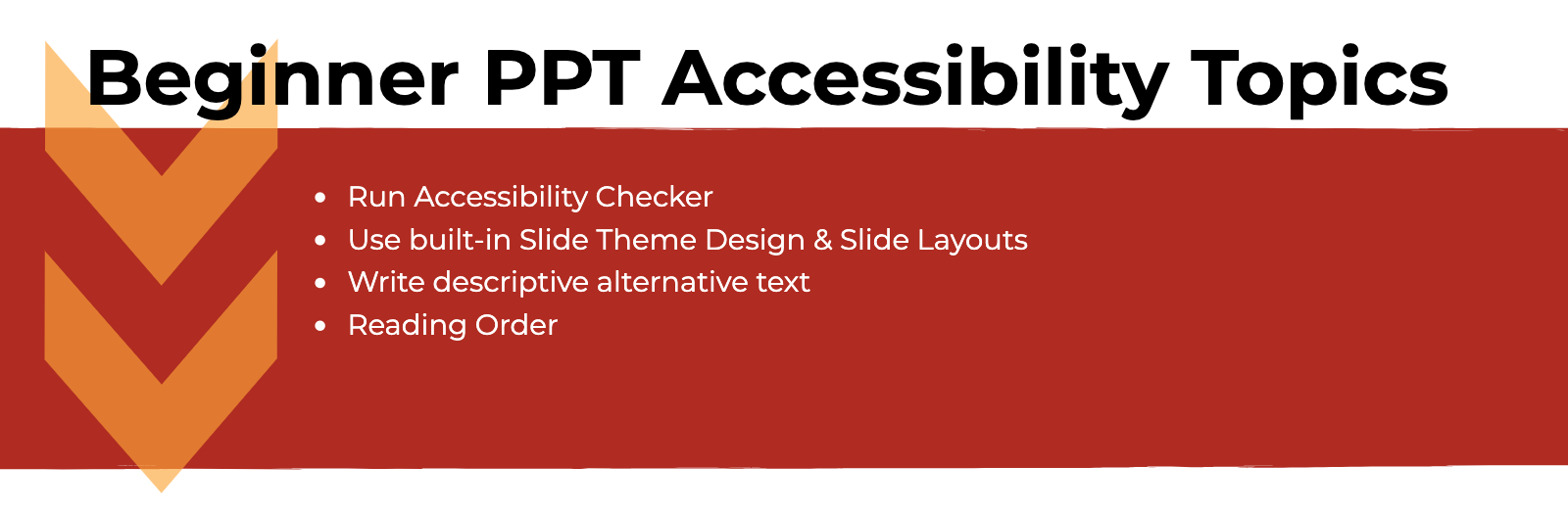ppt accessibility graphic