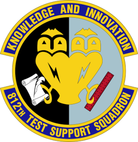 812th Test Support Squadron Logo