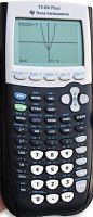 TI-84 Plus graphing calculators are available at the library