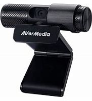 Avermedia Live Stream USB webcams are available at the library