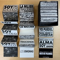 Images of the artist's book Abracadabra