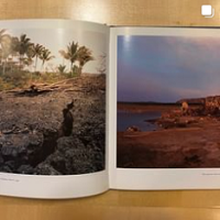 two pages inside the book no ordinary land