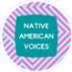 Native American Voices Badge