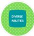 Diverse Abilities Badge