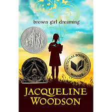 pic of the cover of the book Brown Girl Dreaming