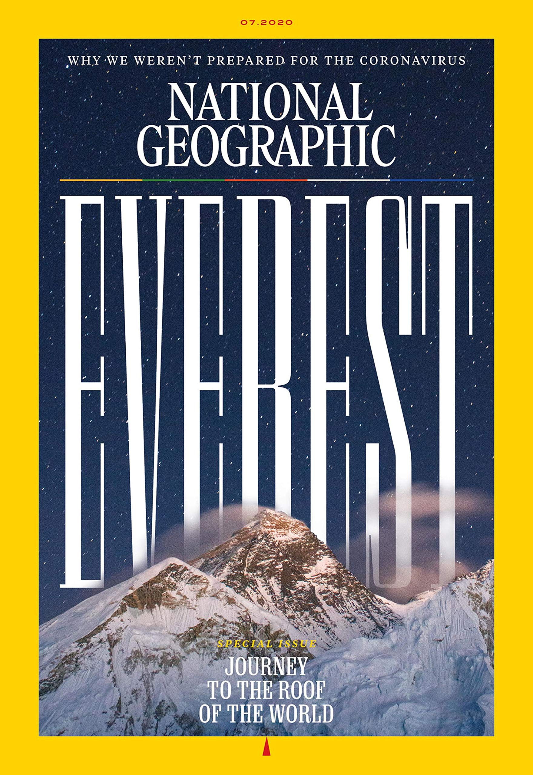 National Geography magazine cover