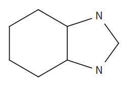Structure drawing of octahydro-1H-benzimidazole