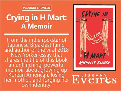 Ft Book of the Week: Crying in H Mart