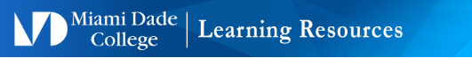 Miami Dade College Learning Resources - Sustainability Health & Well-being