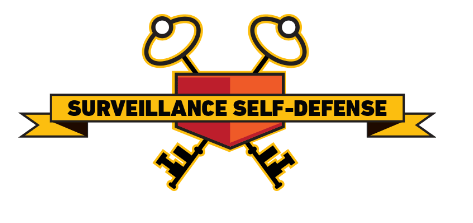 Surveillance Self-Defense Logo from Electronic Frontier Foundation