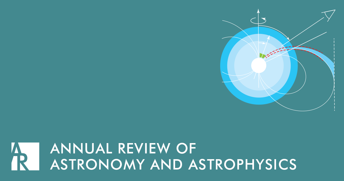 Annual Review of Astronomy and Astrophysics Logo