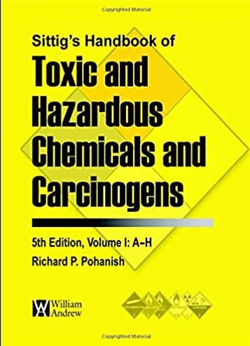 Sittig's Handbook of Toxic and Hazardous Chemicals Cover