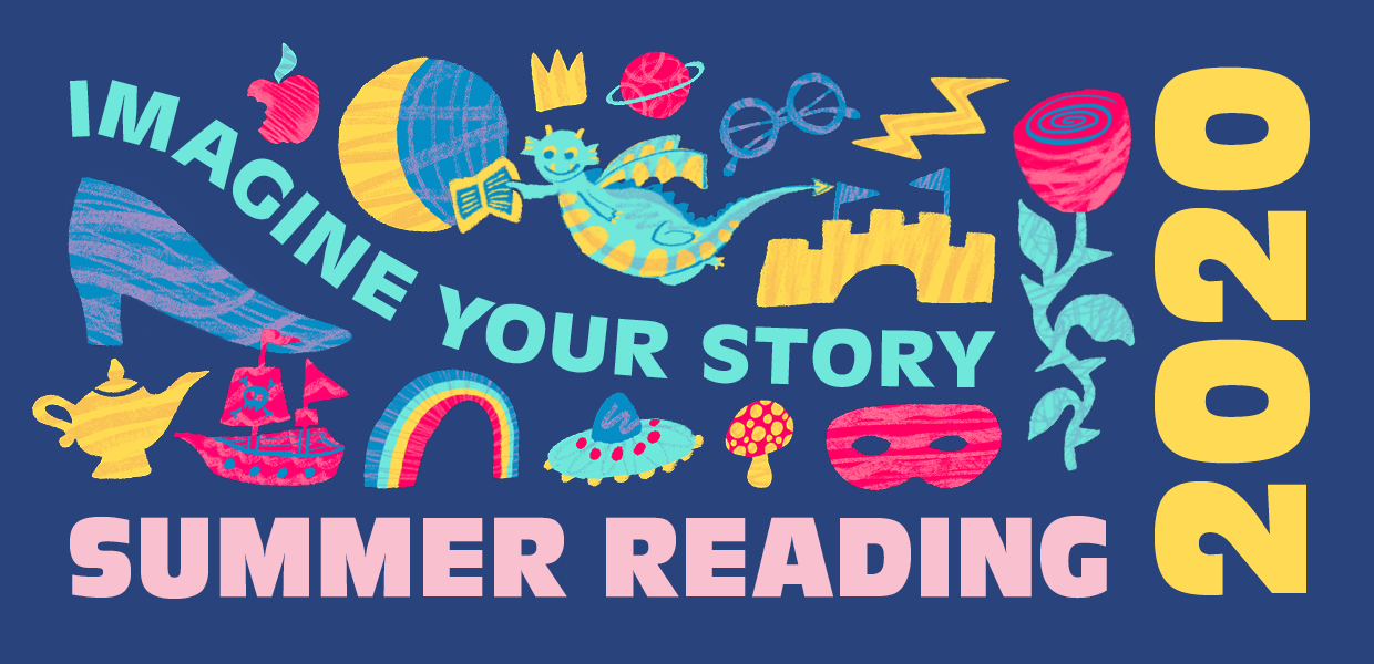 Brooklyn Public Library Summer Reading 2020 Imagine Your Story
