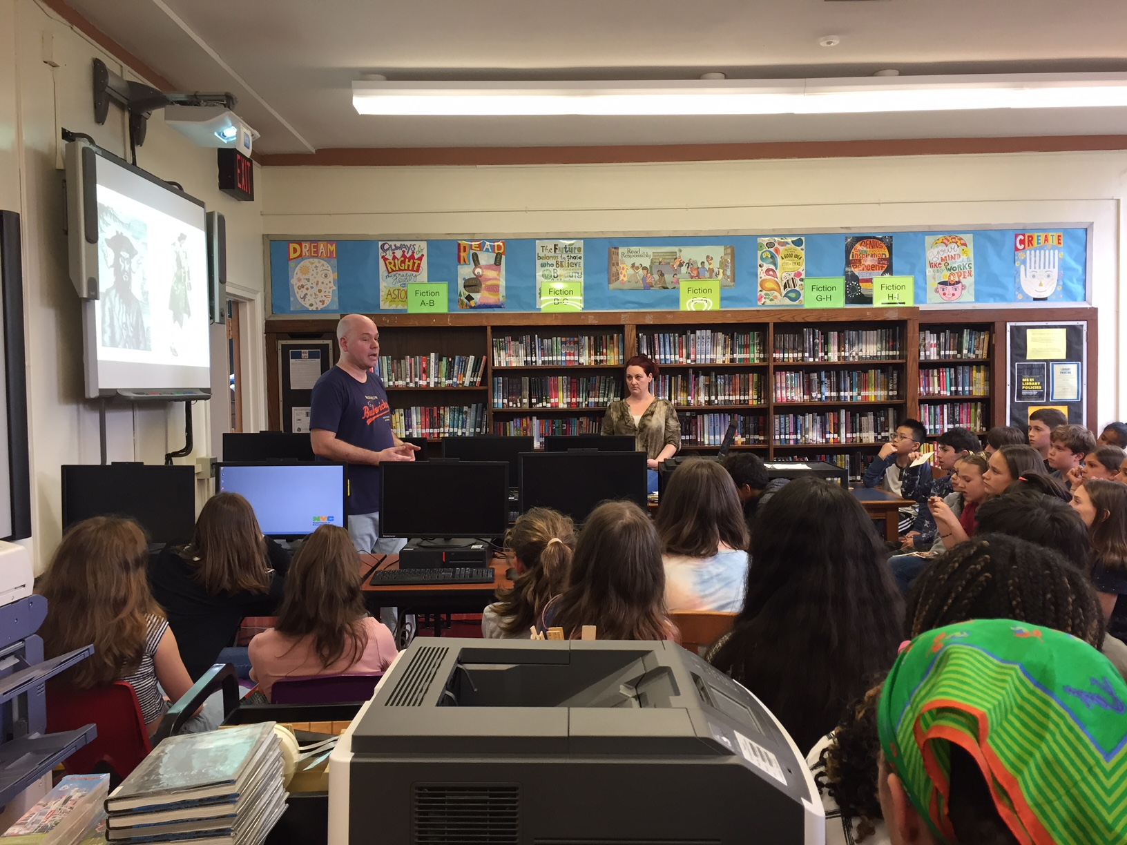 Author visit: Jason Fry