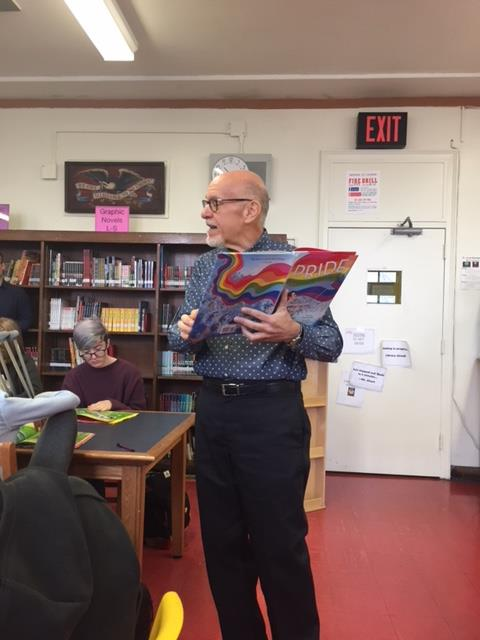 Author visit: Rob Sanders