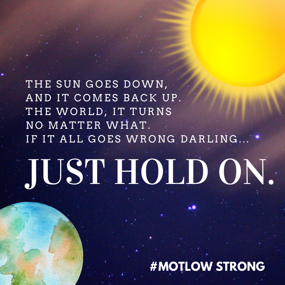 Just Hold On #motlowstrong