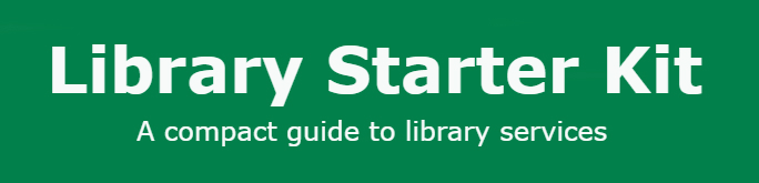 Library Starter Kit button