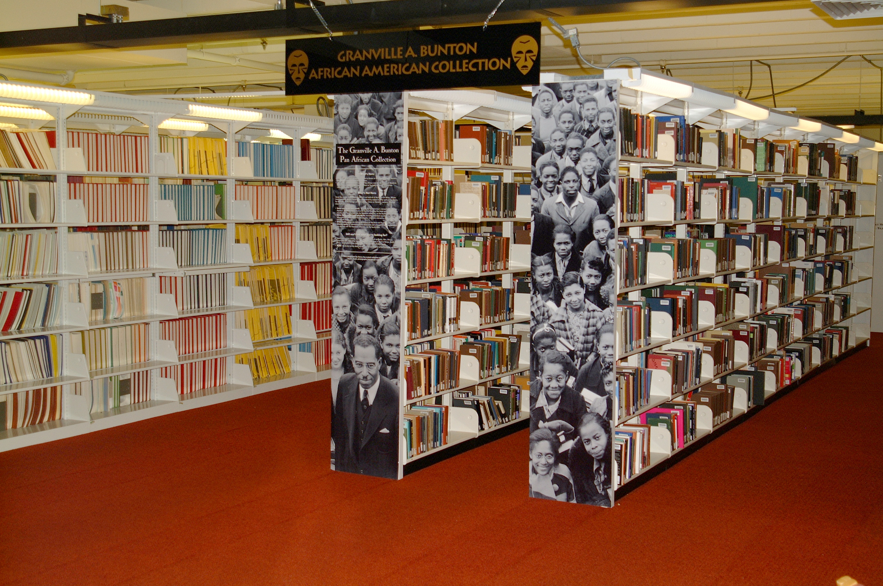 The African American Collection at Ekstrom Library