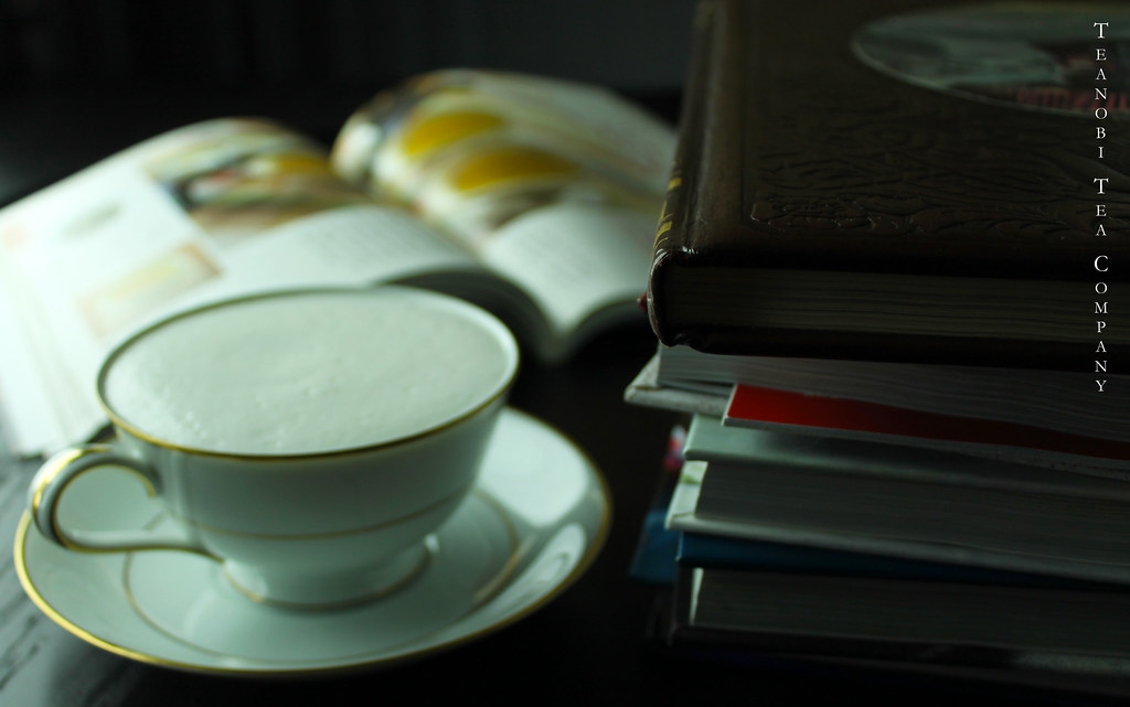 Cup of Tea and a Stack of Books