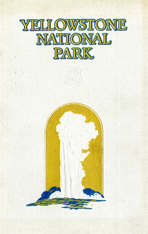 Yellowstone National Park guidebook cover