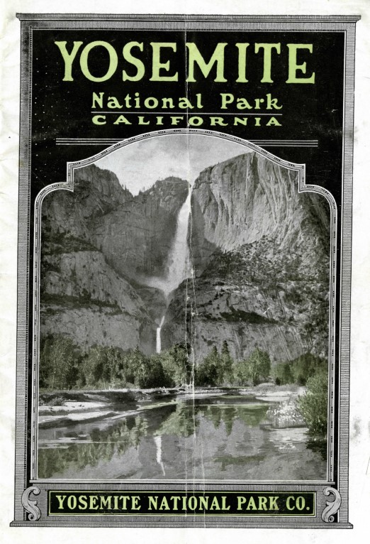 Yosemite National Park guidebook cover