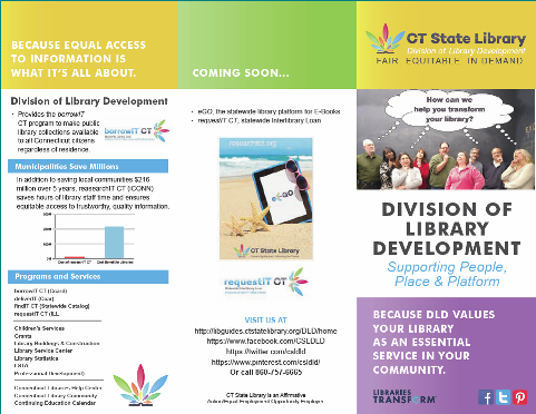 Division of Library Development Brochure