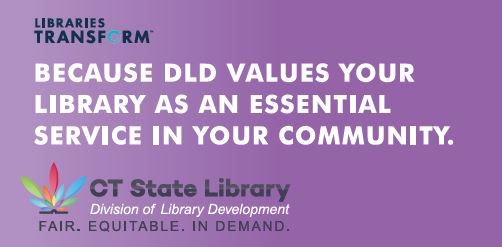 """Because DLD Values Your Library as an Essential Service in Your Community"""