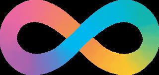 neurodiversity pastel symbol
