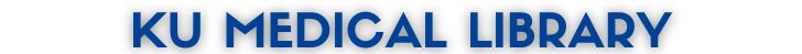 KU Medical Library header