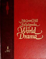 Cover art McGraw-Hill Encyclopedia of World Drama Volumes 1-5, Second Edition, link to record