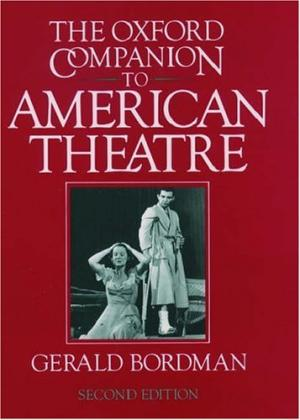 Cover art for The Oxford Companion to American Theatre, links to record