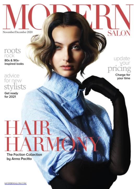 Modern Salon Magazine Cover