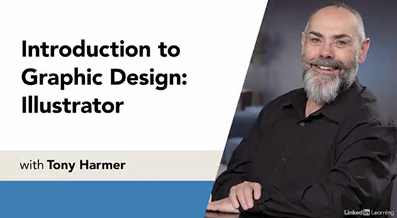 Starting Screenshot of Introduction to Graphic Design: Illustrator