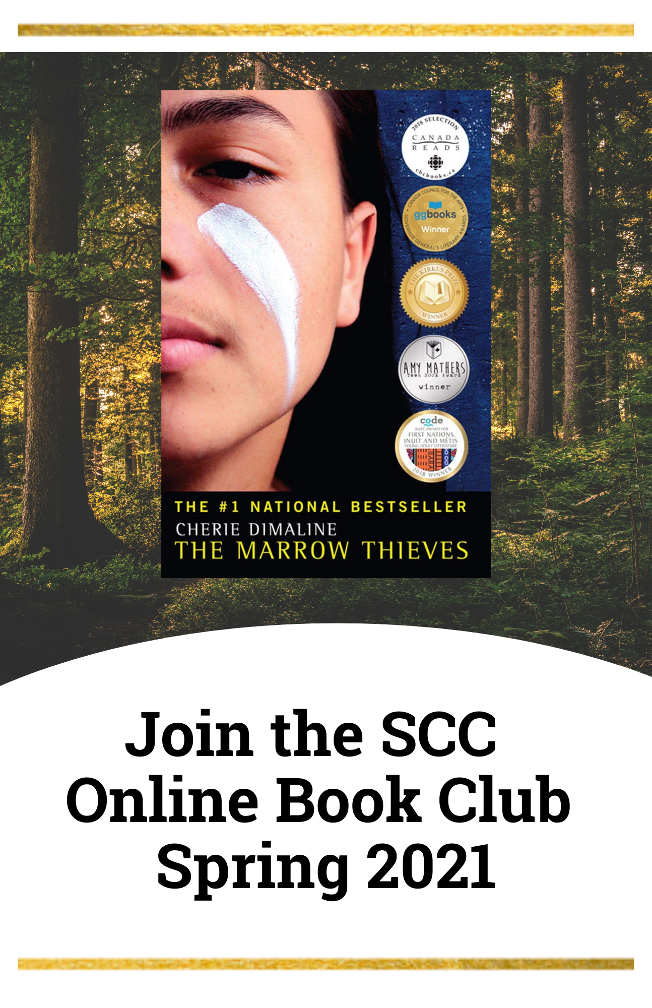 Join the SCC Book Club Spring 2021 Marrow Thieves