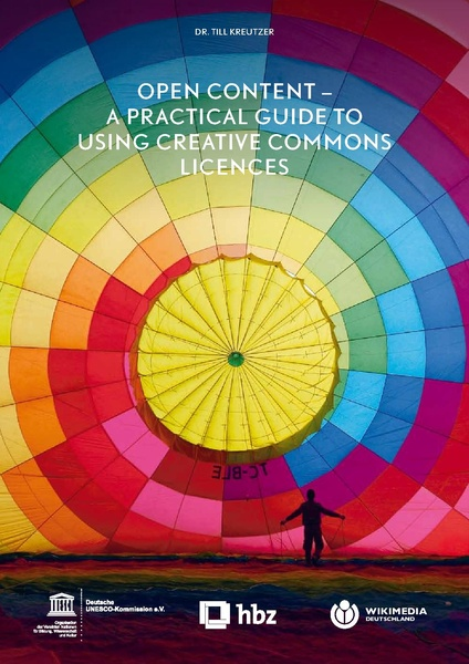 Cover of book Open Content-a practical guide to using Creative Commons Licences