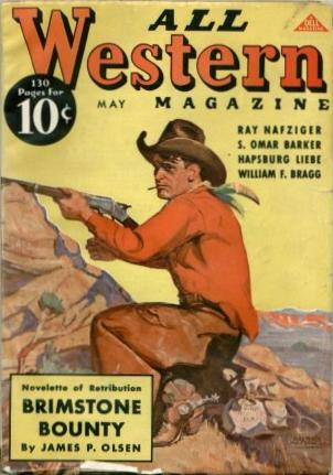 Cover of All Western Magazine May 1937