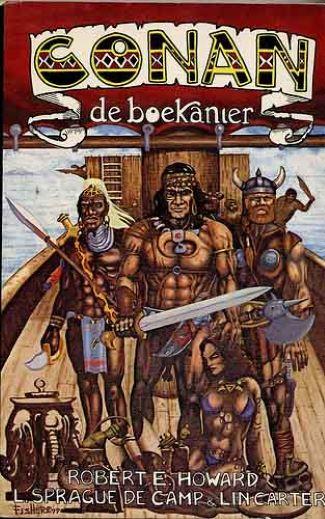 cover conan de boekanier conan the buccaner