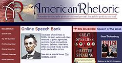 ic0n for american rhetoric website
