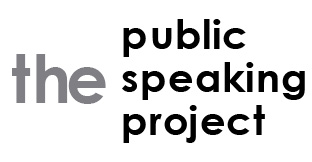 icon for the public speaking project website