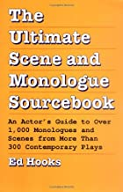 cover the ultimate scene and monologue sourcebook