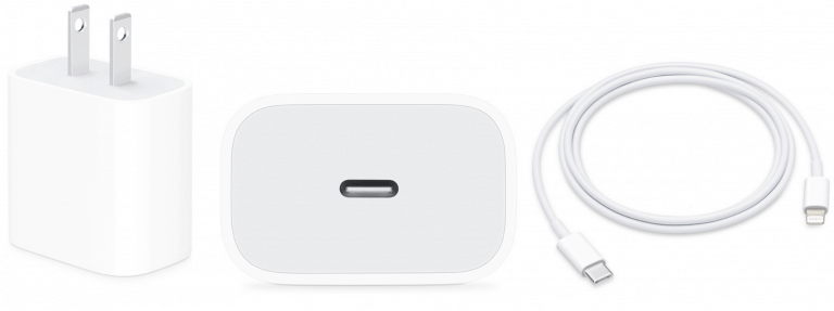 Photo of Apple USB-C to Lightning Charger with Adaptor