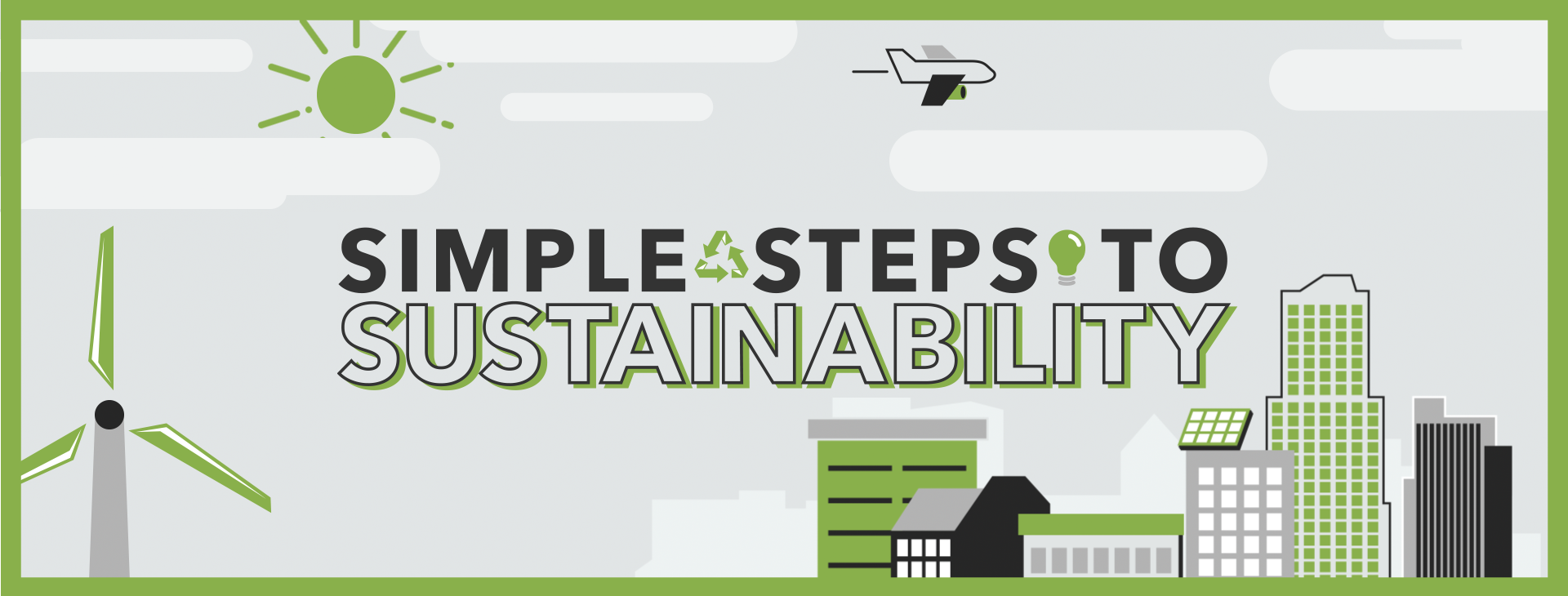 Simple Steps to Sustainability image