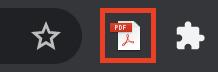 Zotero PDF icon