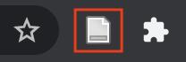 Zotero gray paper icon