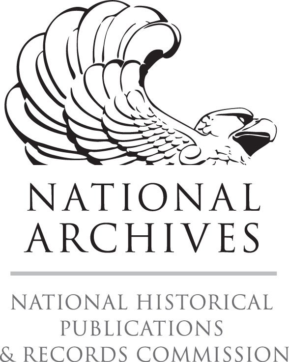 """logo; eagle with text """"National Archives National Historical Publications & Records Commission"""""""