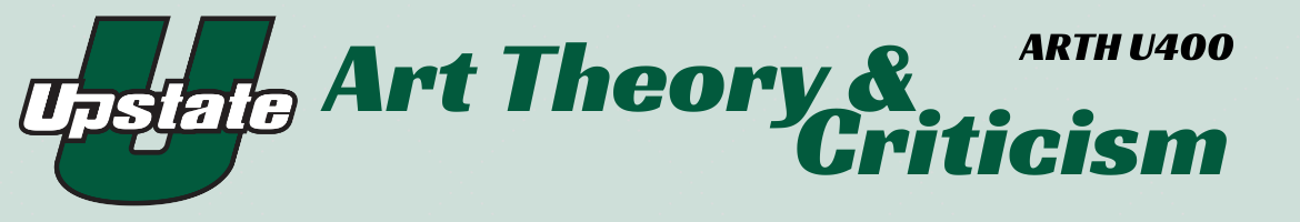 Art Theory & Criticism Header