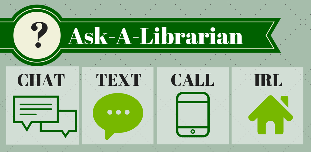 Ask a Librarian image / link