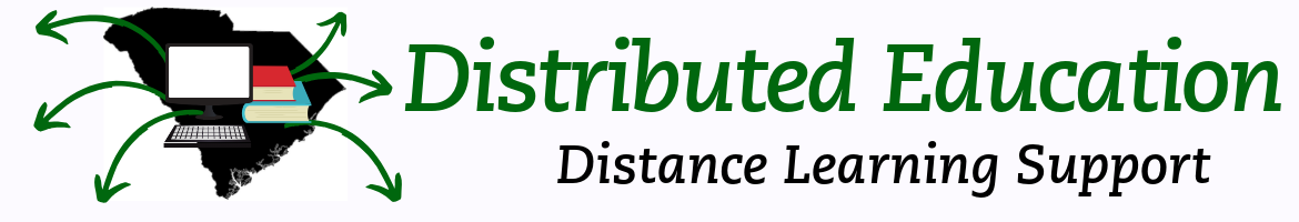 Distributed Education Distance Learning Support LibGuide