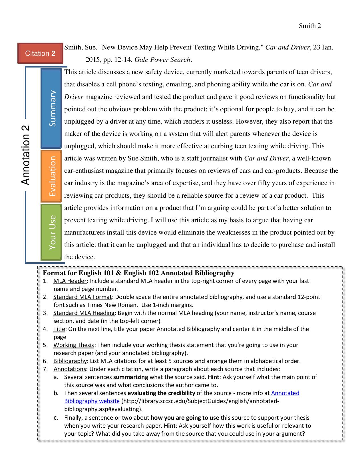 Example MLA see link at bottom of page for PDF of document