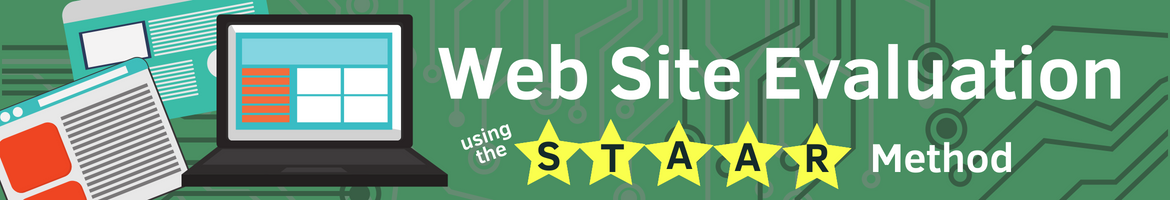 Evaluating web sites using the staar method header
